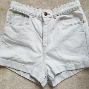 Highwaisted American Apparel shorts